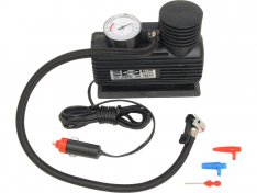 EXTOL CRAFT kompresor mini 12V, 250PSI/1,7MPa, manometr 252